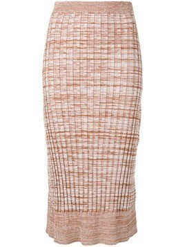 Jil Sander Navy knitted midi skirt - Neutrals