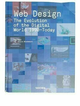 TASCHEN Web Design: The Evolution of the Digital World 1990-Today - Blue