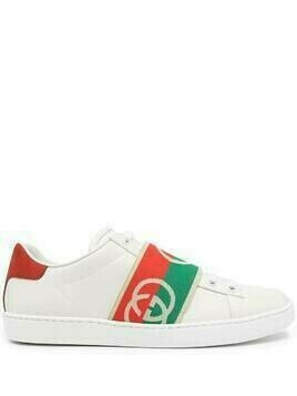 Gucci Ace elastic Web sneakers - White