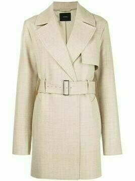 Joseph belted short trench coat - Neutrals