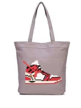 Mostly Heard Rarely Seen 8-Bit Virgil 2 tote bag - Grey