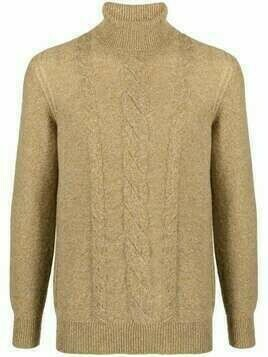 Loro Piana cable-knit roll-neck cashmere jumper - Yellow