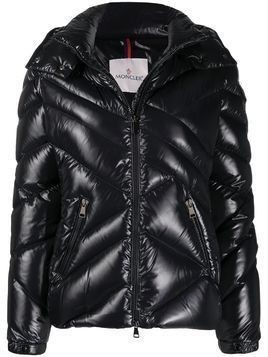 Moncler quilted puffer jacket - Black