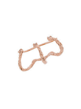 Niza Huang Moments climber earring - Pink
