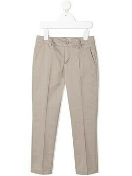 Dondup Kids cotton chinos - Neutrals