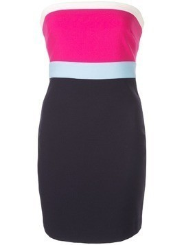 Likely colour block bandeau mini dress - Blue
