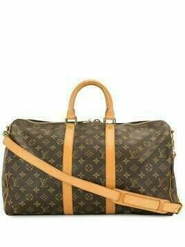 Louis Vuitton pre-owned Keepall Bandoulière 45 travel bag - Brown