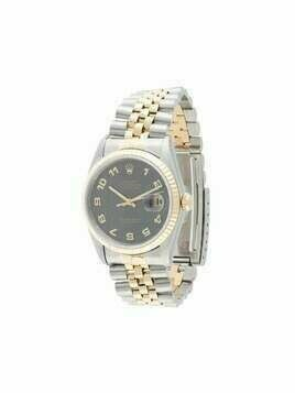 Rolex pre-owned Oyster Perpetual Datejust 36mm - SILVER