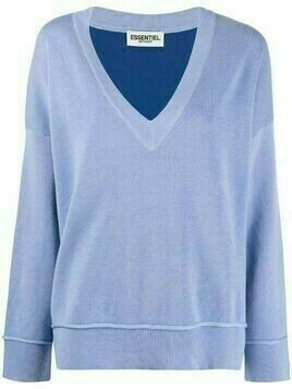 Essentiel Antwerp Zoetry V-neck jumper - Blue