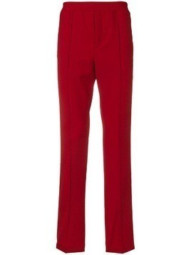 Kenzo side stripe track trousers - Red