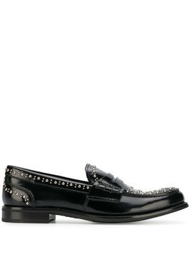 Church's Pembrey studded penny loafers - Black
