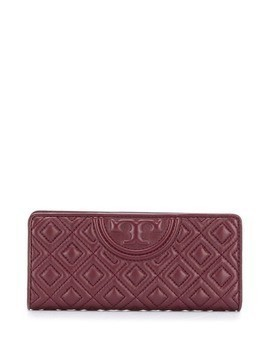 Tory Burch diamond quilt wallet - Red