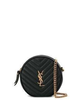 Saint Laurent Vinyle quilted bag - Black