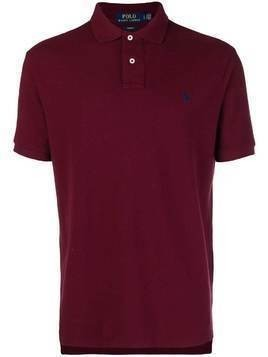 Polo Ralph Lauren logo short-sleeve polo top - Red
