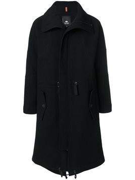 Tom Rebl - zip up trench coat - Herren - Cotton/Polyamide/Polyester - 52 - Black
