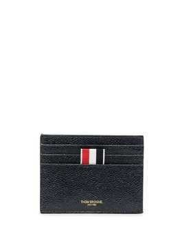Thom Browne RWB patch cardholder - Blue