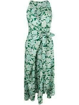 Christian Wijnants knot detail dress - Green