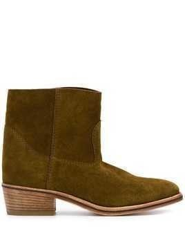 Forte Forte ankle boots - Green
