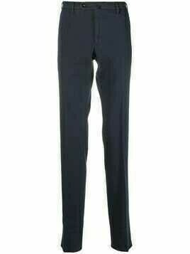 Incotex straight-leg tailored trousers - Blue