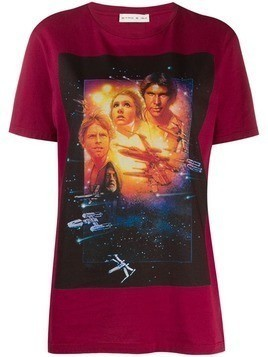 Etro printed Star Wars T-shirt - Red