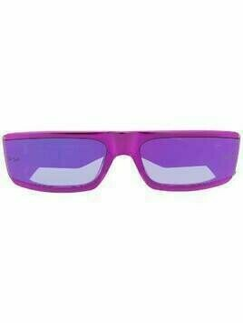 Retrosuperfuture square frame sunglasses - PINK