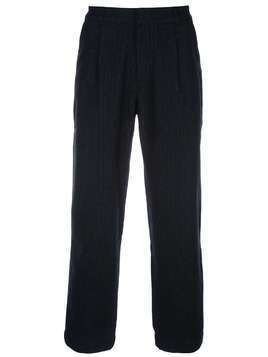 Folk Signal tapered trousers - Black