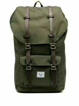 Herschel Supply Co. logo patch backpack - Green