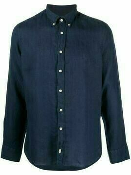 Hackett buttoned long-sleeve shirt - Blue