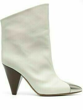 Isabel Marant contrast-toe ankle boots - White