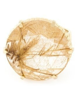 Wouters & Hendrix rutilated quartz ring - Metallic