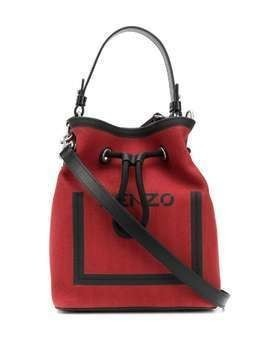 Kenzo Kanvas bucket bag - Red