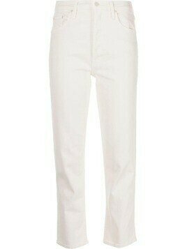MOTHER Tomcat straight-leg jeans - White