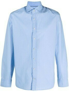 Hackett long-sleeve cotton shirt - Blue
