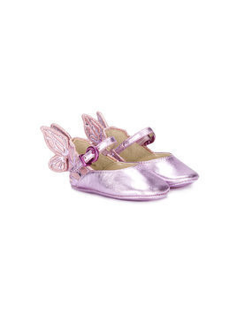 Sophia Webster Mini Chiara ballerinas - Pink & Purple