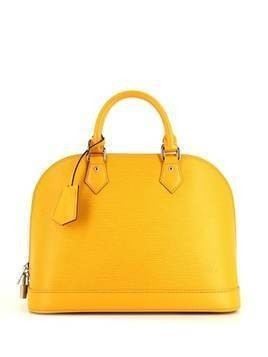 Louis Vuitton 2014 pre-owned Alma tote bag - Yellow