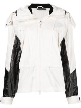 Adidas By Stella Mccartney recycled hooded jacket - White