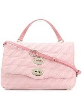 Zanellato Postina quilted tote bag - Pink