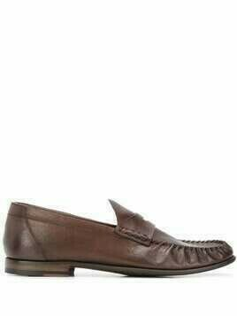 Silvano Sassetti slip-on loafers - Brown