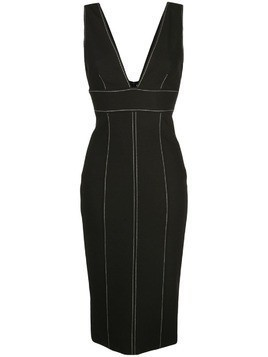 Cinq A Sept Taya fitted dress - Black