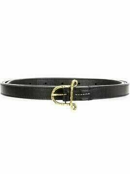 Altuzarra small 'A' belt - Black