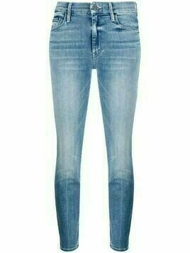 MOTHER The Locker Ankle skinny jeans - Blue
