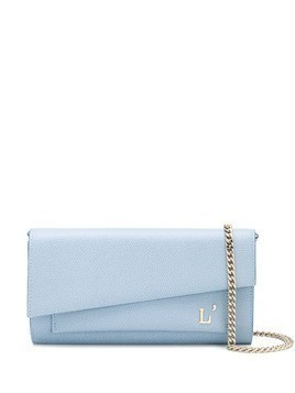 L'Autre Chose Mini porfolio crossbody bag - Blue