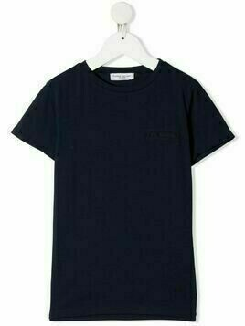 Paolo Pecora Kids chest-pocket crew neck T-shirt - Blue
