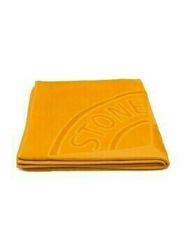 Stone Island Junior logo embossed towel - Orange