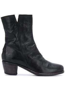 Fiorentini + Baker chunky mid-heel boots - Black
