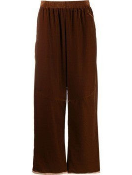 Mm6 Maison Margiela multi-wear zip track pants - Brown