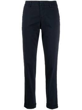Fay straight-leg trousers - Blue