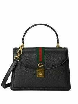 Gucci Ophidia small top handle bag - Black
