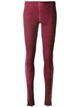 Isaac Sellam Experience stitched panel leggings - PINK