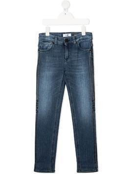 Dondup Kids George straight-leg jeans - Blue